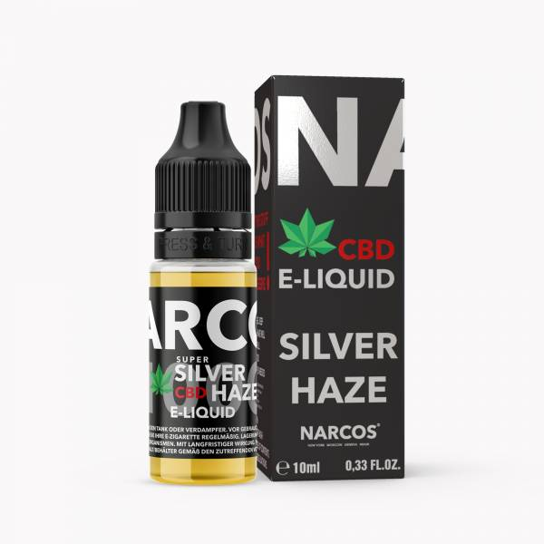 E-Liquid Super Silver Haze 10ml CBD Hanf 0% Nikotin